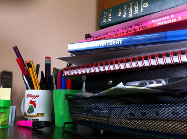 Piles of work!