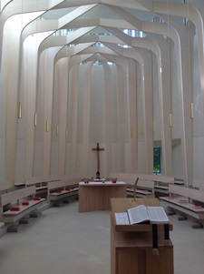 The Chapel Interior, BEK Chapel,Cuddesdon