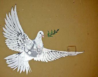 Bethlehem Wall Graffiti by Pawel Rzyzawa