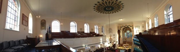 Panoramic View of St Ann's Church, Naval Dockyard, Portsmouth