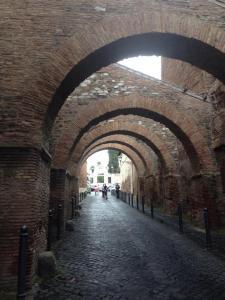 Original Roman Streets at San Gregorio Magno al Celio