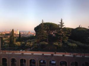 The View from the Lay Centre at Foyer Unitas