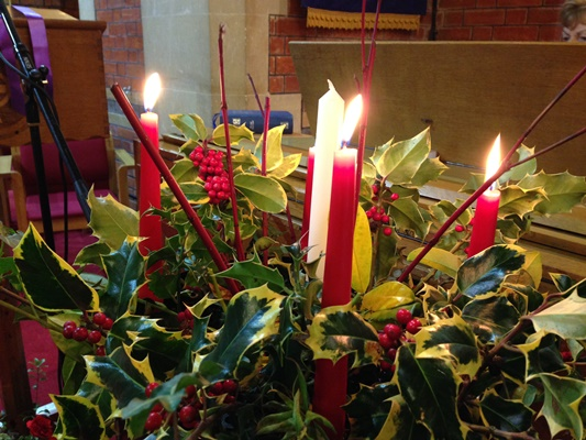Advent Wreath blog