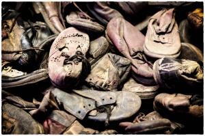 The poignancy of children's shoes in Auschwitz