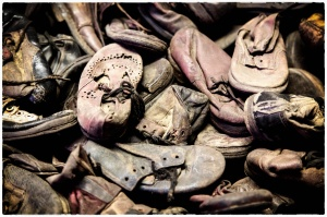 The poignancy of children's shoes in Auschwitz