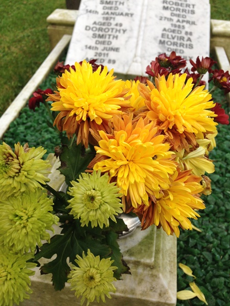 Grave Flowers blog