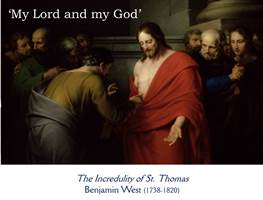 The Incredulity of St Thomas blog