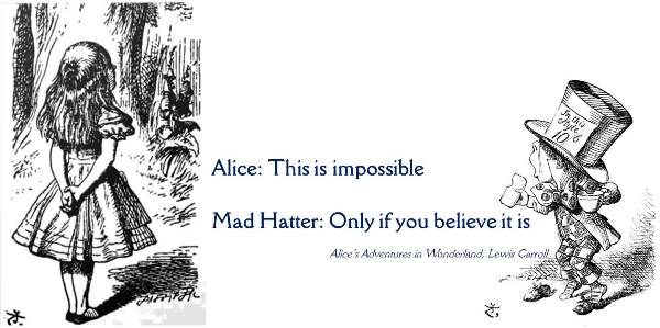 'This is impossible' said Alice