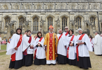 New Deacons, Petertide 2015 'Photo Credit Winchester Diocese'