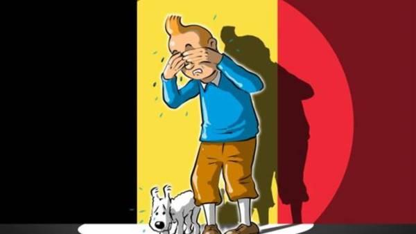 Brussels - Tintin