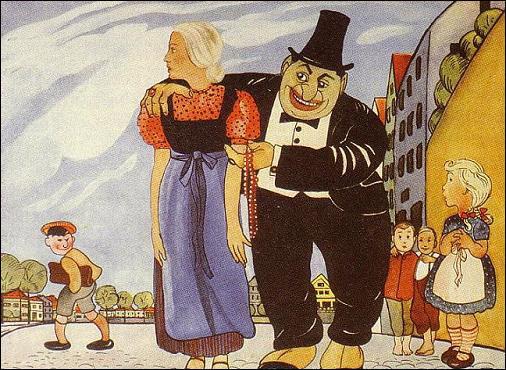 Anti-Semetic Cartoon