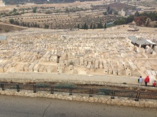 The Burial Ground on the side of the Mount of Olives