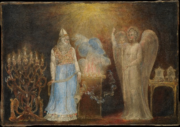Blake - The Angel Appearing to Zechariah