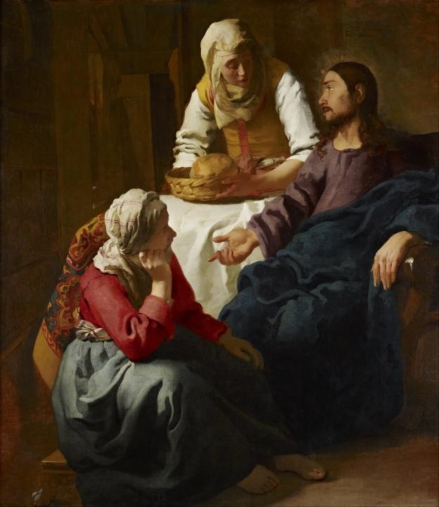 Mary and Martha - Vermeer
